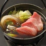 マグロすき(一人前小鍋)