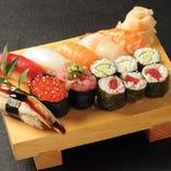 上寿司盛り「潮風」