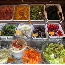 ◆新鮮野菜をたっぷりと楽しめる♪