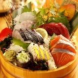 山陰直送で毎日仕入れる旬の海鮮をお値打ち価格で豪快に提供!