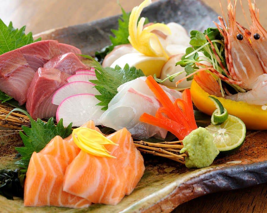毎日仕入れる新鮮なお魚