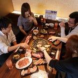 パーティー、合コン、記念日、お誕生日会、各種宴会に大好評!
