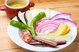 ☆鎌倉野菜のバーニャカウダ