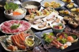 宴会料理 大皿盛りでも個人盛りでも対応できます