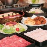 ▲個室でこだわりのお肉で楽しくしゃぶしゃぶ!