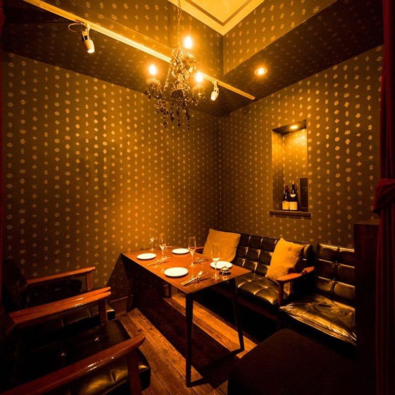 【ご予約必須】2種の個室、2~14名様