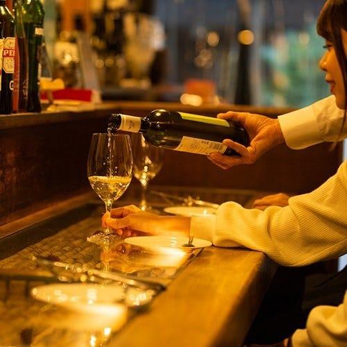 13種類のワイングラスは全てリーデル社製
