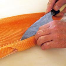 新鮮鮮魚捌き立て。