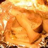 エリンギバター(ホイル焼き)