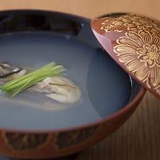 磯の香り漂う牡蠣汁