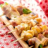こだわりの串焼きは毎週火曜日半額デーです!