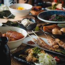 季節の食材を使用したコース2700円~