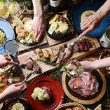 今日はPARTY♪日常にワクワクをお届けするコース料理でどうぞ!