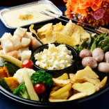サンビーノで人気のチーズフォンデュをテイクアウトでもご用意!