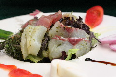 鎌倉野菜&お刺身サラダ