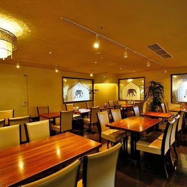 インドレストラン BINDU 梅田阪急グランドビル店 店内の画像