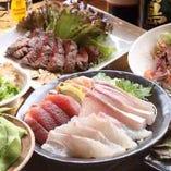 人気の宴会コース 様々な場面でご利用されています。