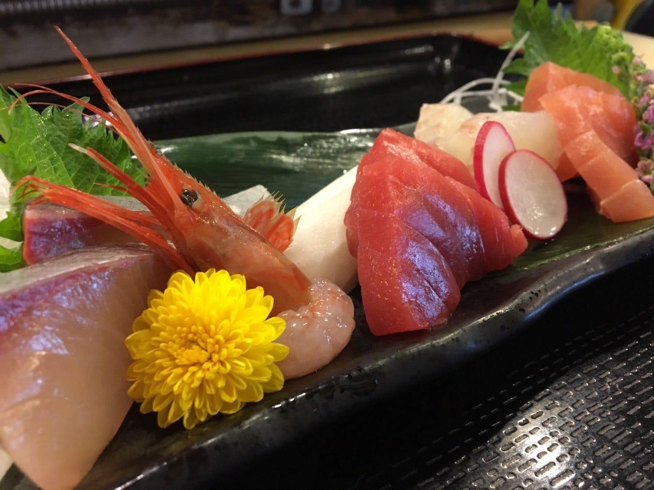 金沢港で水揚げされた新鮮な魚介!