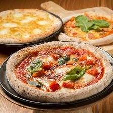 本格石窯ピザをお家で楽しめます♪