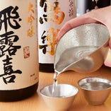 福島県会津若松の地酒を中心に揃えております。
