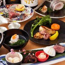 【当日予約OK!】本日の板長のおきまり コース~旬の食材を極上の調理法で~