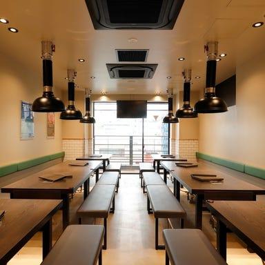 熟成肉専門店 ヨプの王豚塩焼 GEMS新橋店 店内の画像