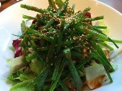 韓国風ねぎサラダ