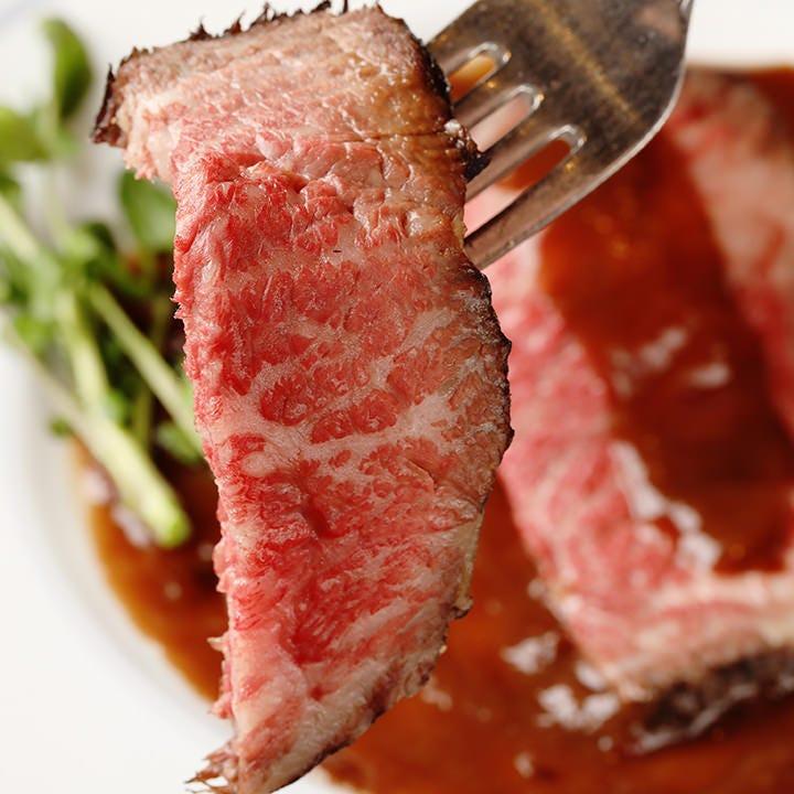 赤身肉の旨味がギュッと詰まった逸品