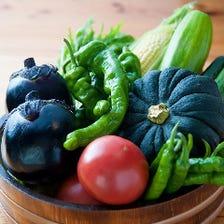 契約農家から仕入れる新鮮な野菜