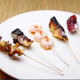 おまかせ魚串5種盛り