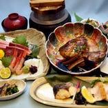 旬の厳選コースは3850円~!旬の食材をご堪能ください!