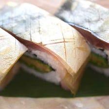 ◆元祖名物◆鯖の松前寿司