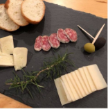 スペイン産サラミと2種のチーズ