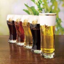 ビールの味の違いを楽しむ!