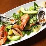 Seafoods Plate Salad