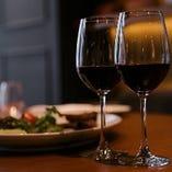 乾杯には「スパークリングワイン」をご提供いたします♪