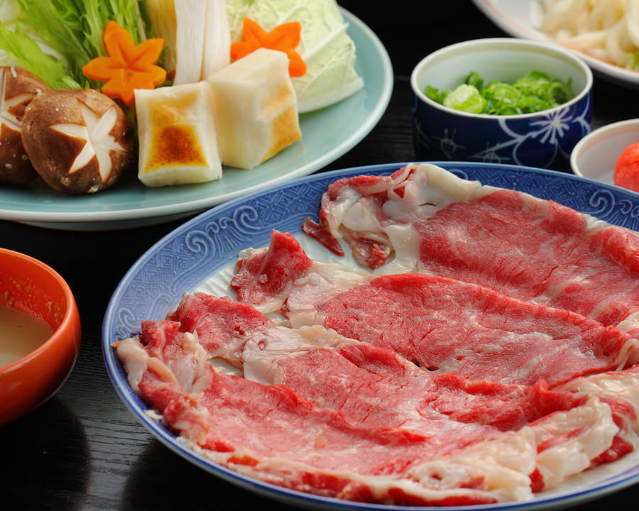 ◆牛しゃぶしゃぶ・桐(きり)コース
