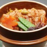 豚の角煮 釜飯セット 1,995円