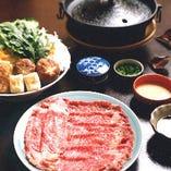 牛しゃぶしゃぶ・橘(たちばな)コース 6,300円