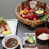 昼ごはん【桜姫鶏の唐揚げ】1,050円