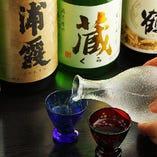 全国の地酒・銘酒を取り揃えています