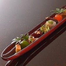 地の利を生かした日本料理を創造