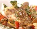Bコース:メインディッシュ お魚料理