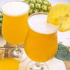 ハワイ×世界各国のビールを堪能