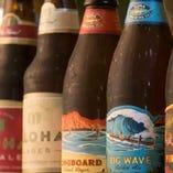 個性豊かなハワイのクラフトビールコナビールを5種類ご用意!