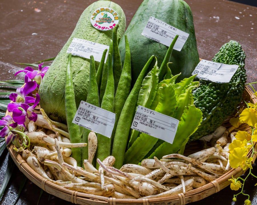 珍しいやんばる野菜