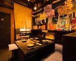 店内は落ち着いた雰囲気でほっとできる空間。