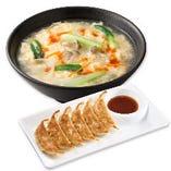 酸辣湯麺 餃子セット