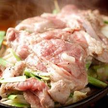 新鮮チルドラム肉!名物ジンギスカン