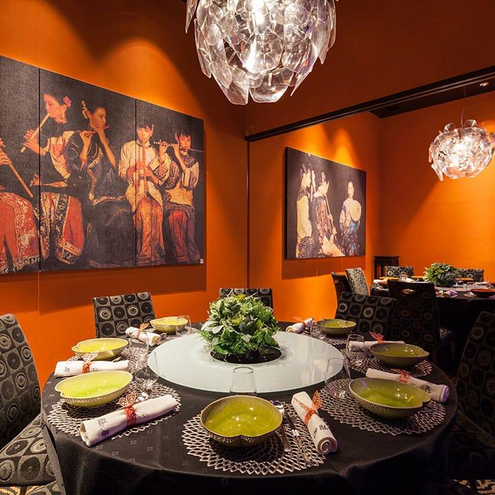 完全個室で愉しむ本格中華料理
